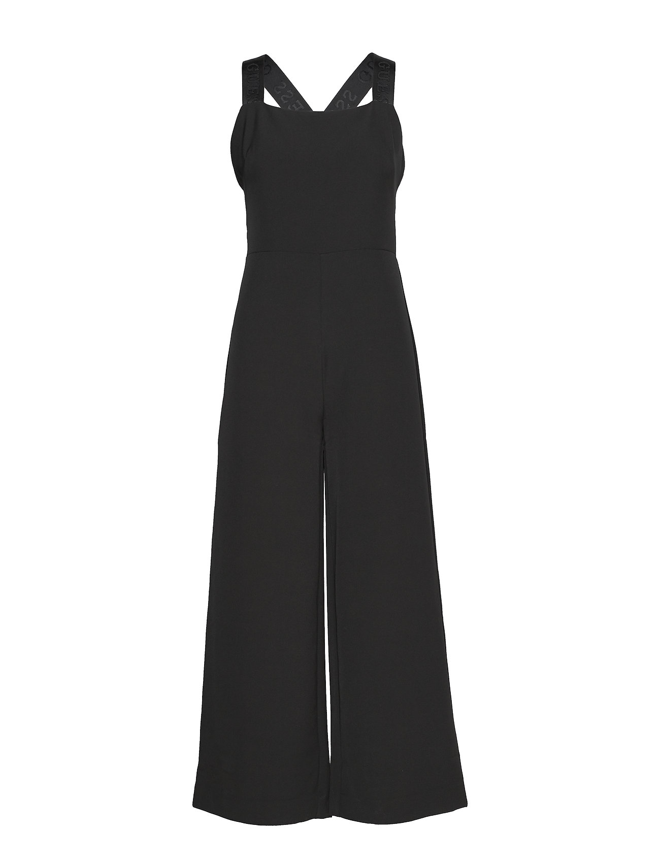 GUESS Jeans NORA OVERALL - JET BLACK A996