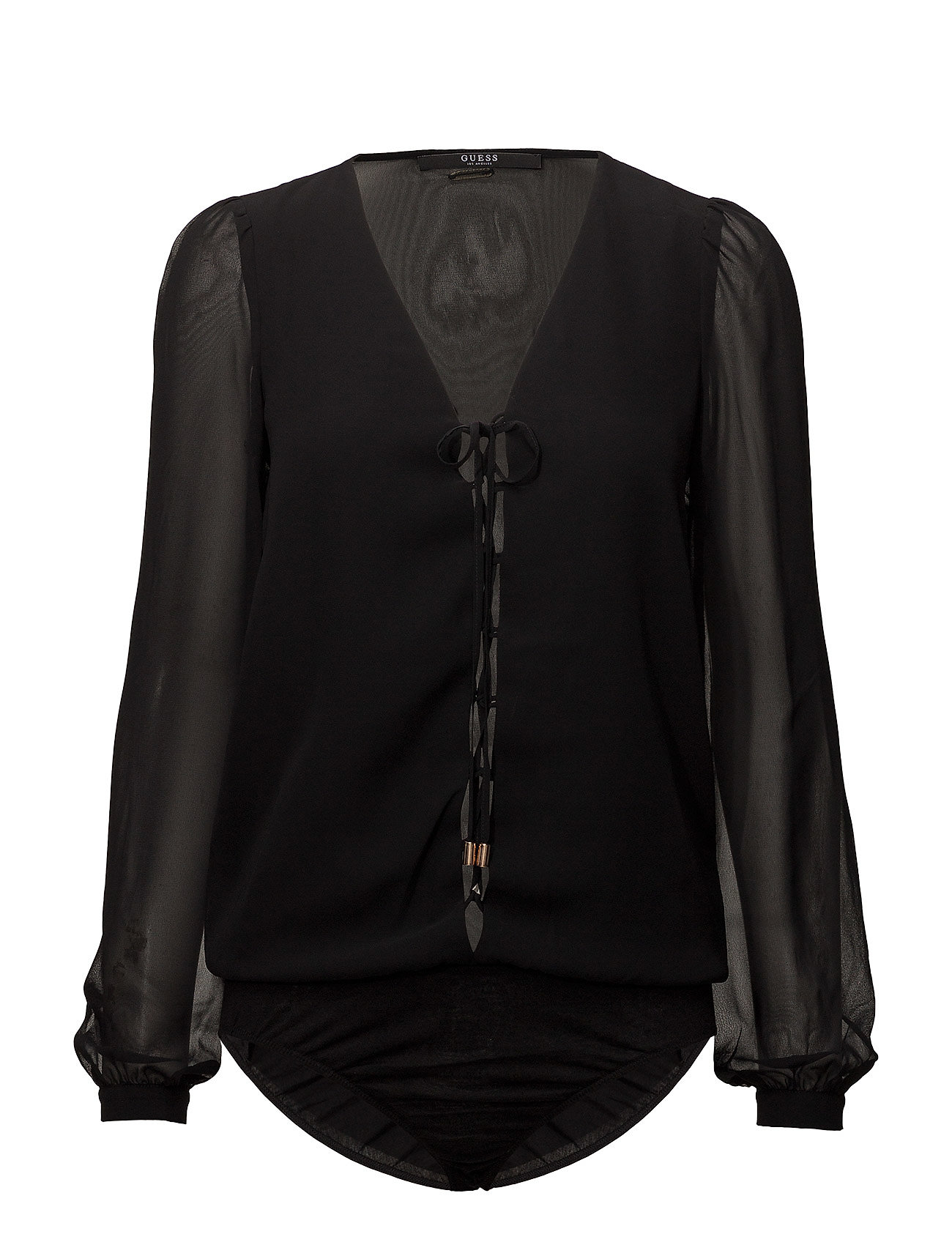 4e336d4cef35e8 Ls Concetta Body Top (Jet Black A996) (47.94 €) - GUESS Jeans ...