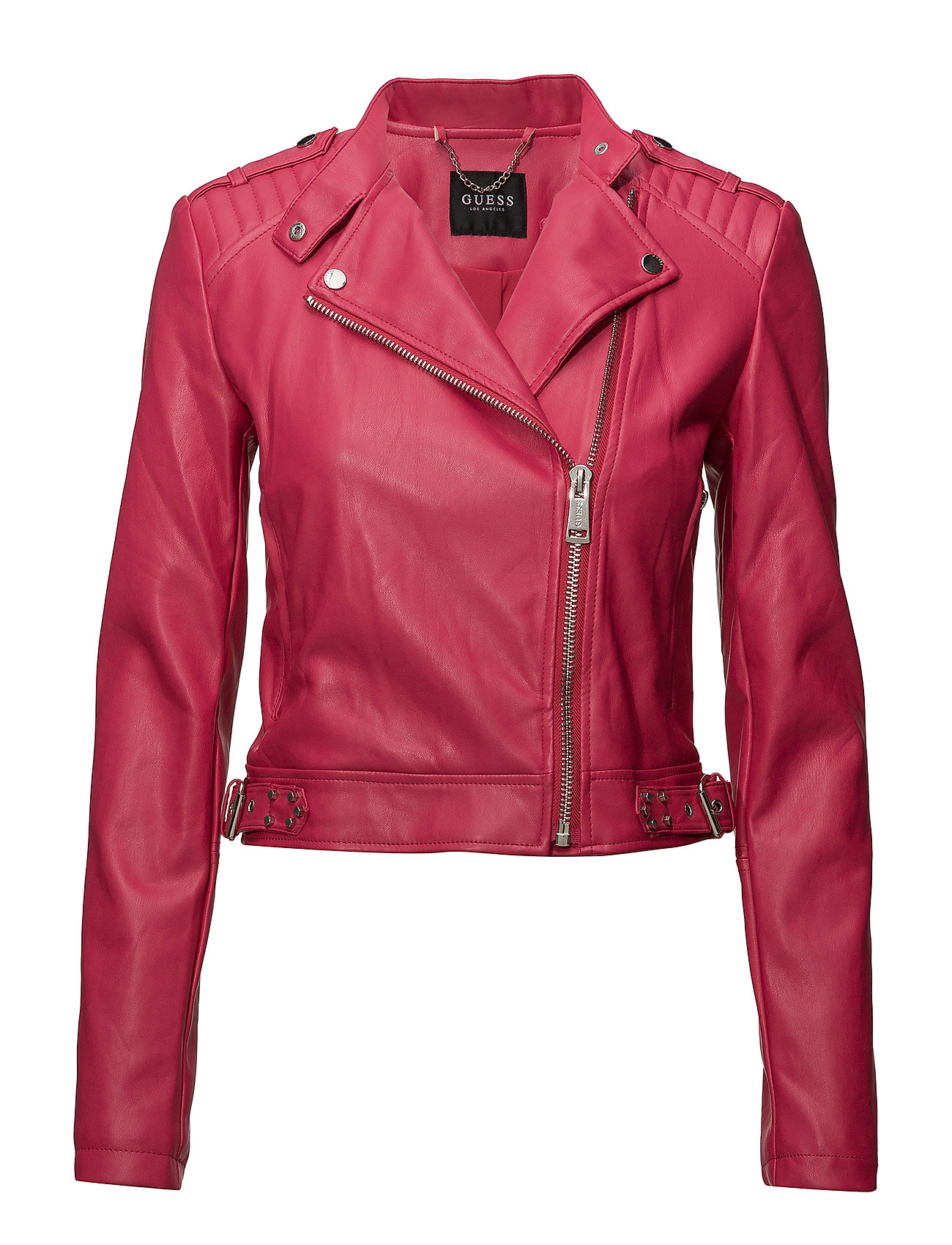 GUESS Jeans ELEONORA JACKET - WILDHEART RED