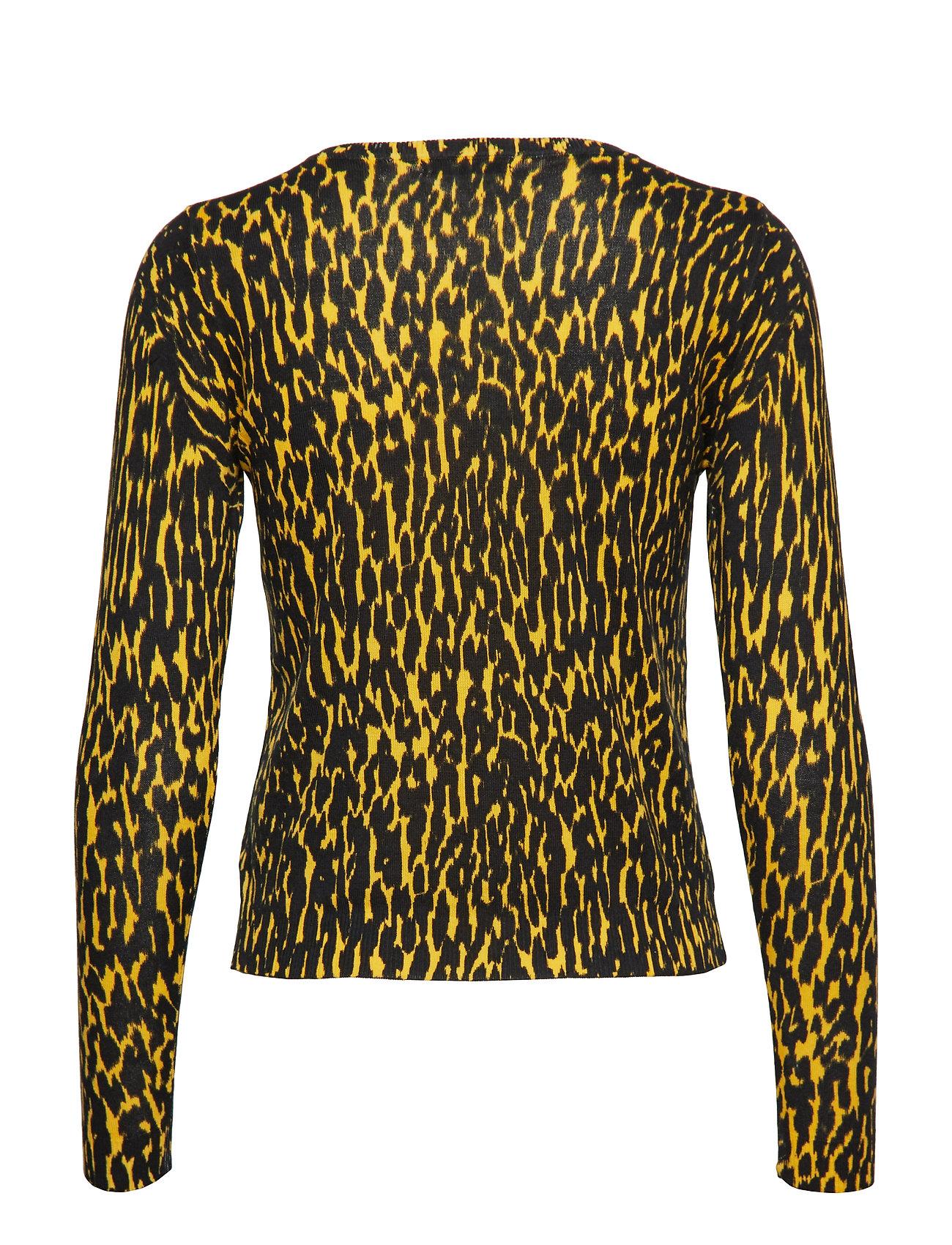 Jeans Cora Leopard BlkGuess Swtrgirly Cardi Ls BWCedrxo