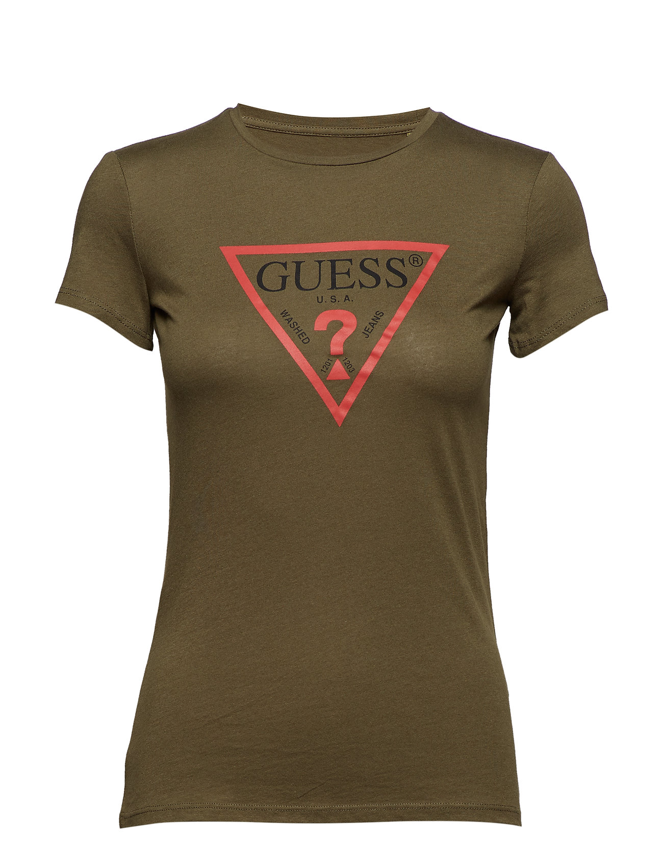 GUESS Jeans SS CN BASIC TEE