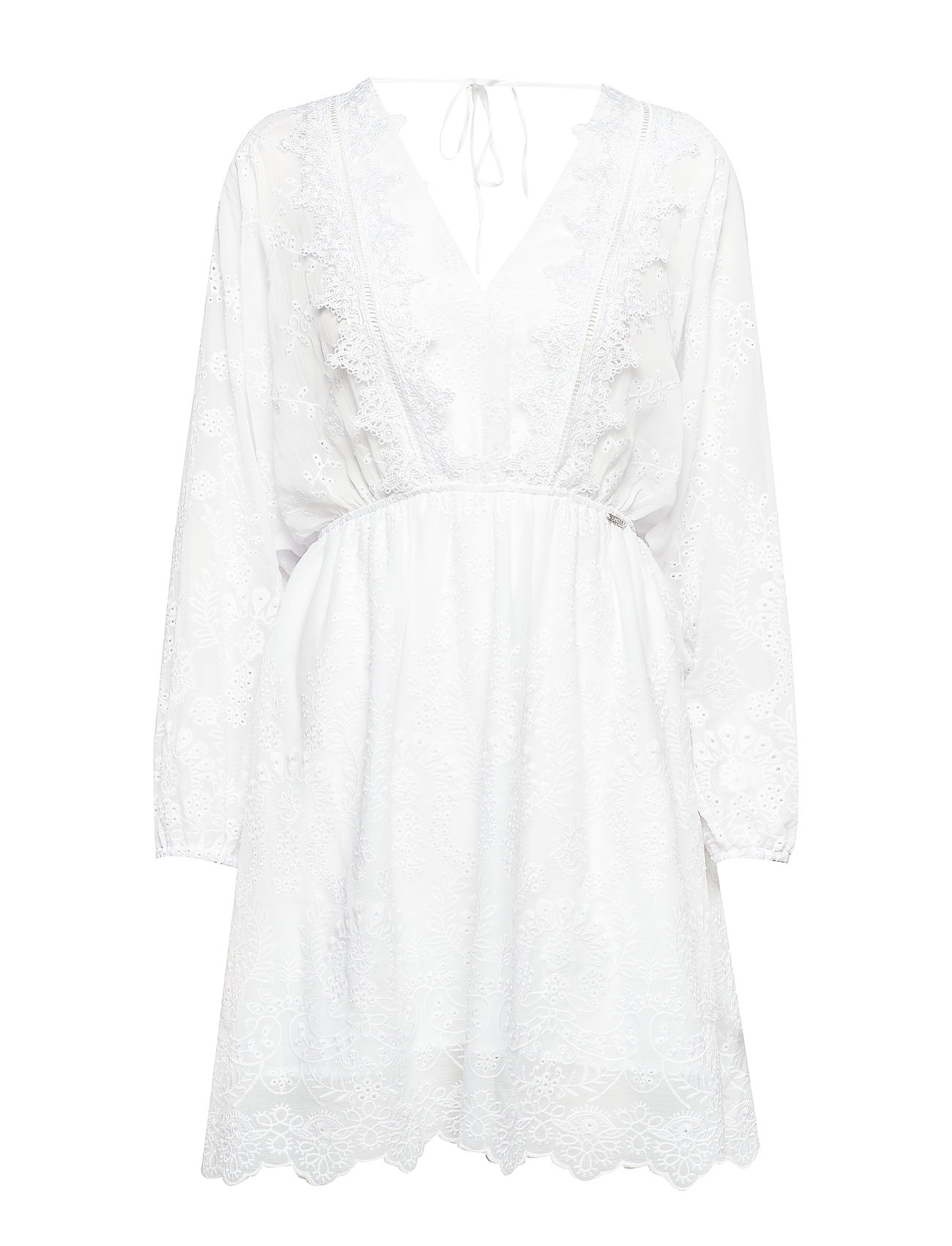 GUESS Jeans SANDY DRESS - TRUE WHITE A000