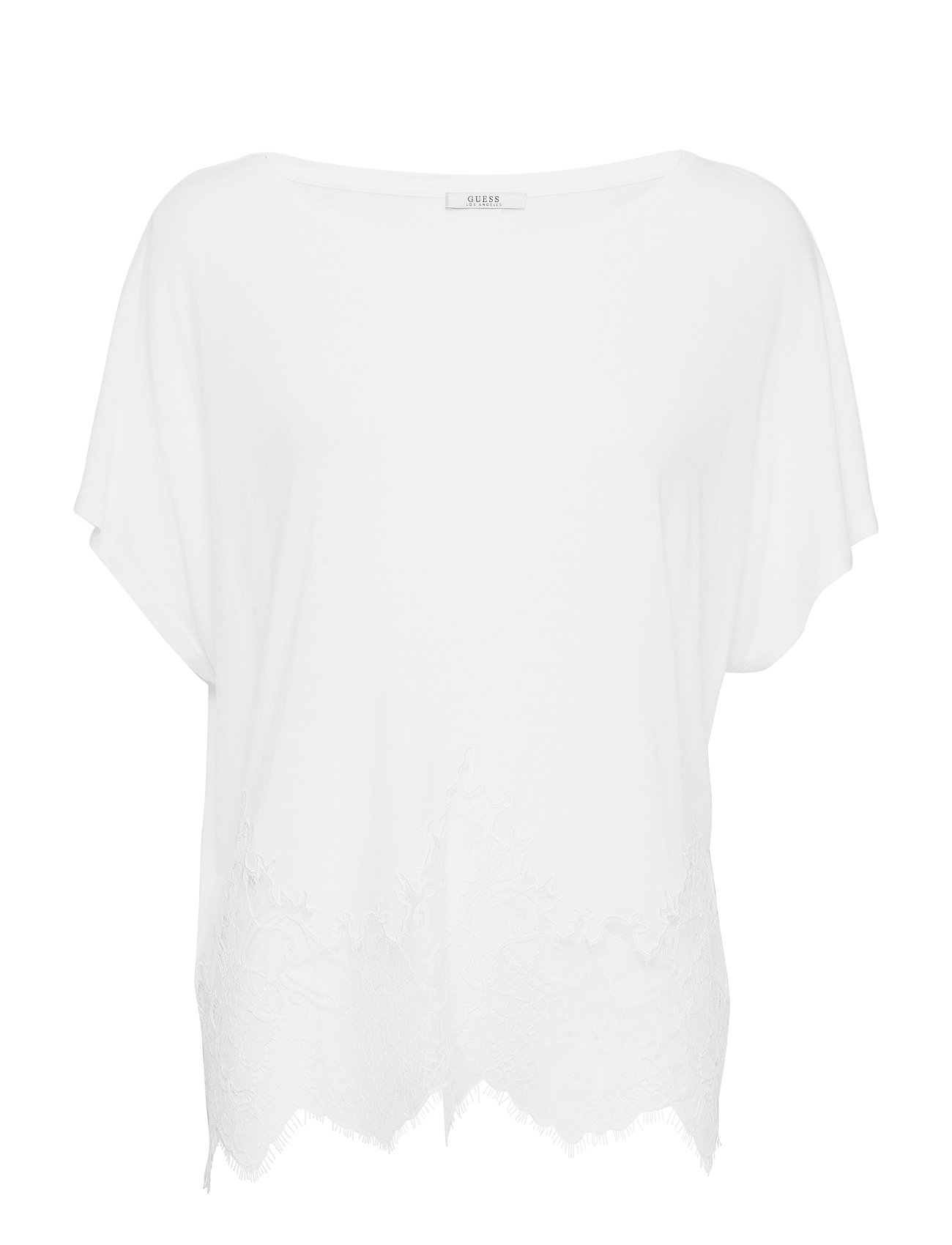 GUESS Jeans NARA TOP - TRUE WHITE A000