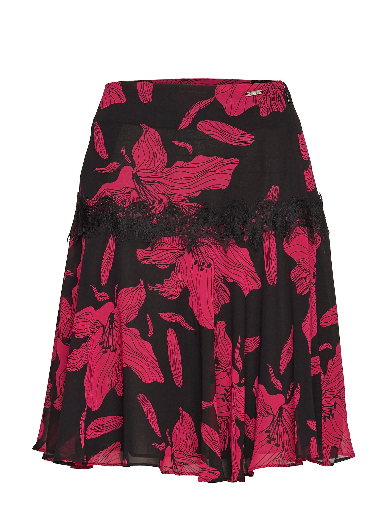 GUESS Jeans MONICA SKIRT - PASSION FLOWER BL