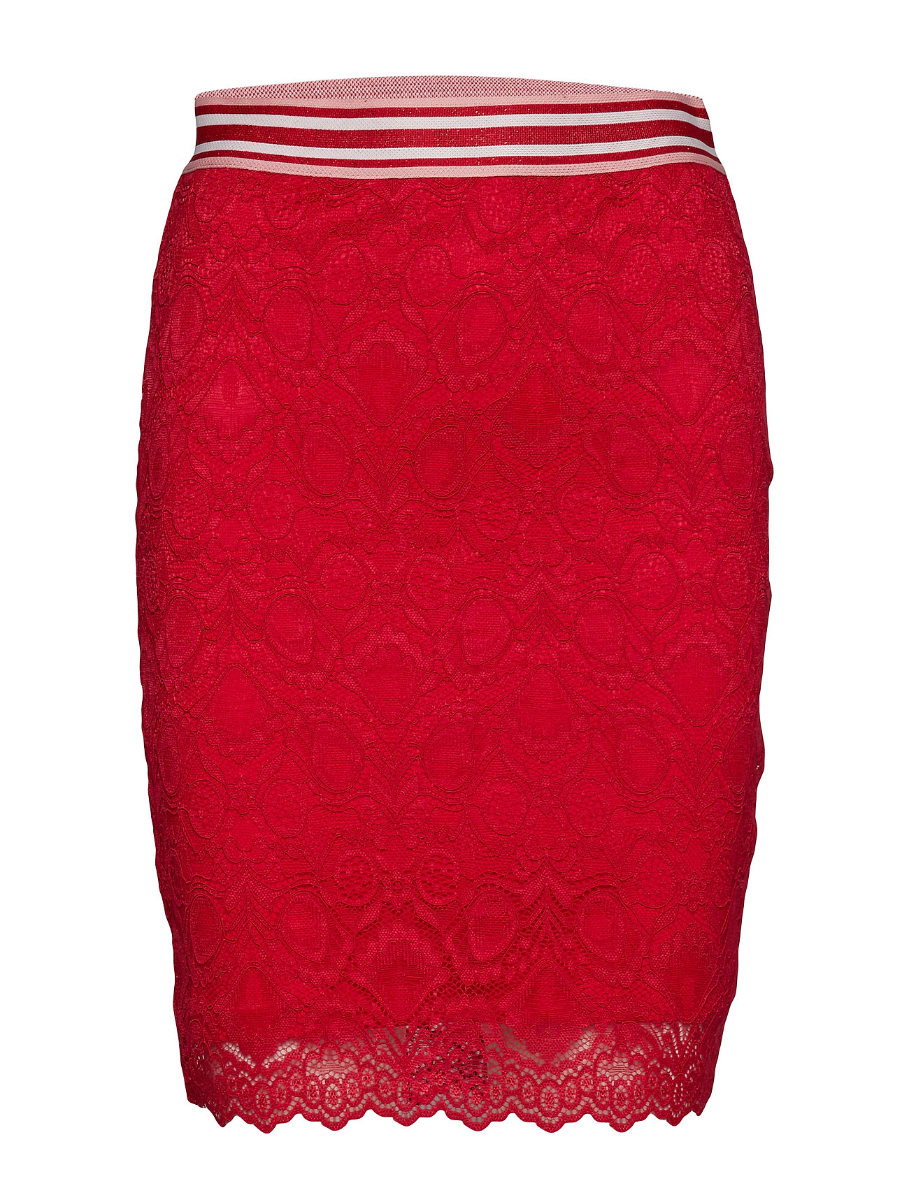 GUESS Jeans FABIOLA SKIRT - RED ATTITUDE