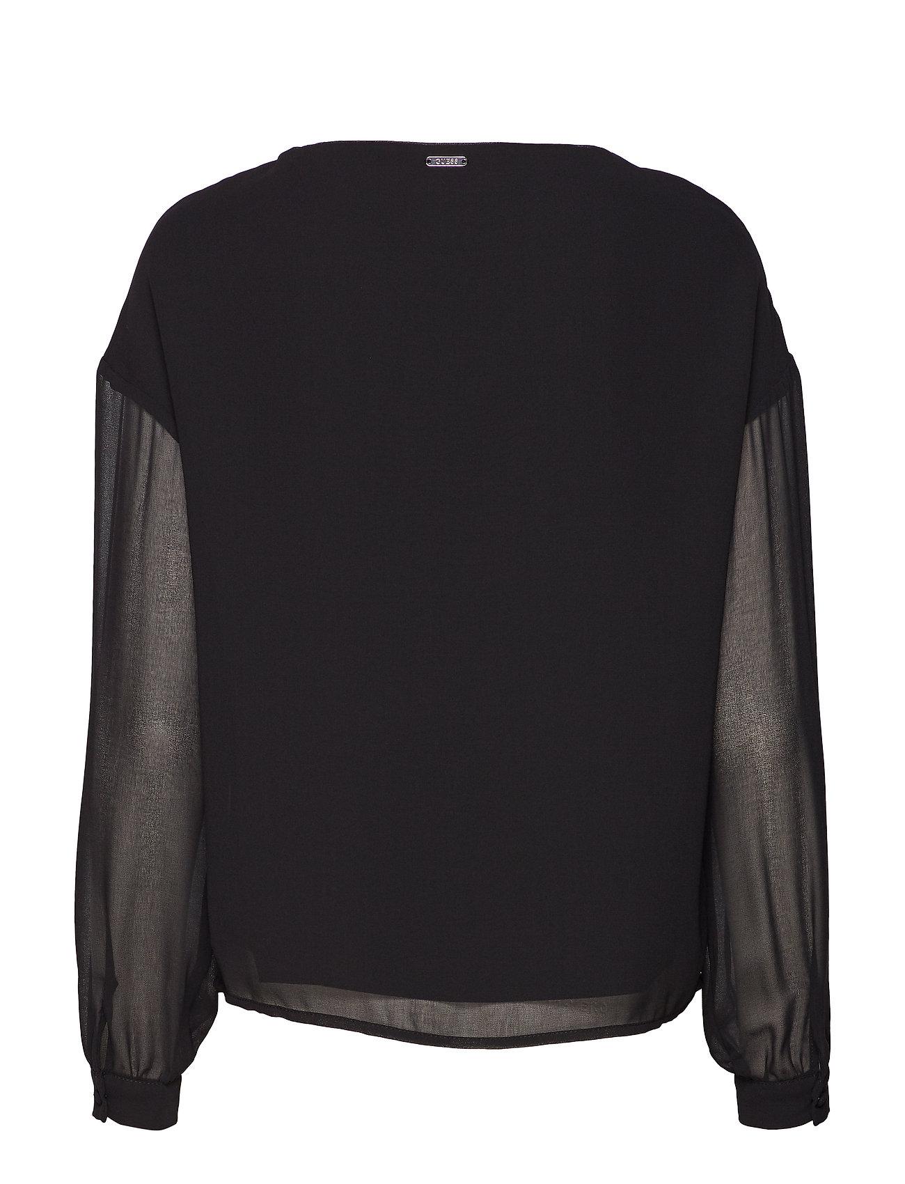 Topjet Yasmine Black A996Guess Ls Jeans kuOZiTPX