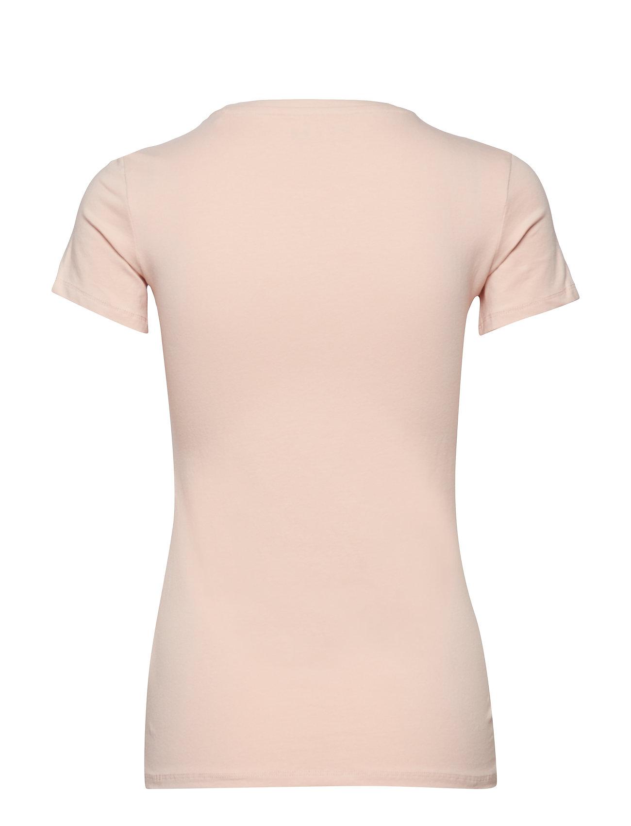 T shirtpale Logo SandGuess Cn Ss Jeans oBrCeWdx