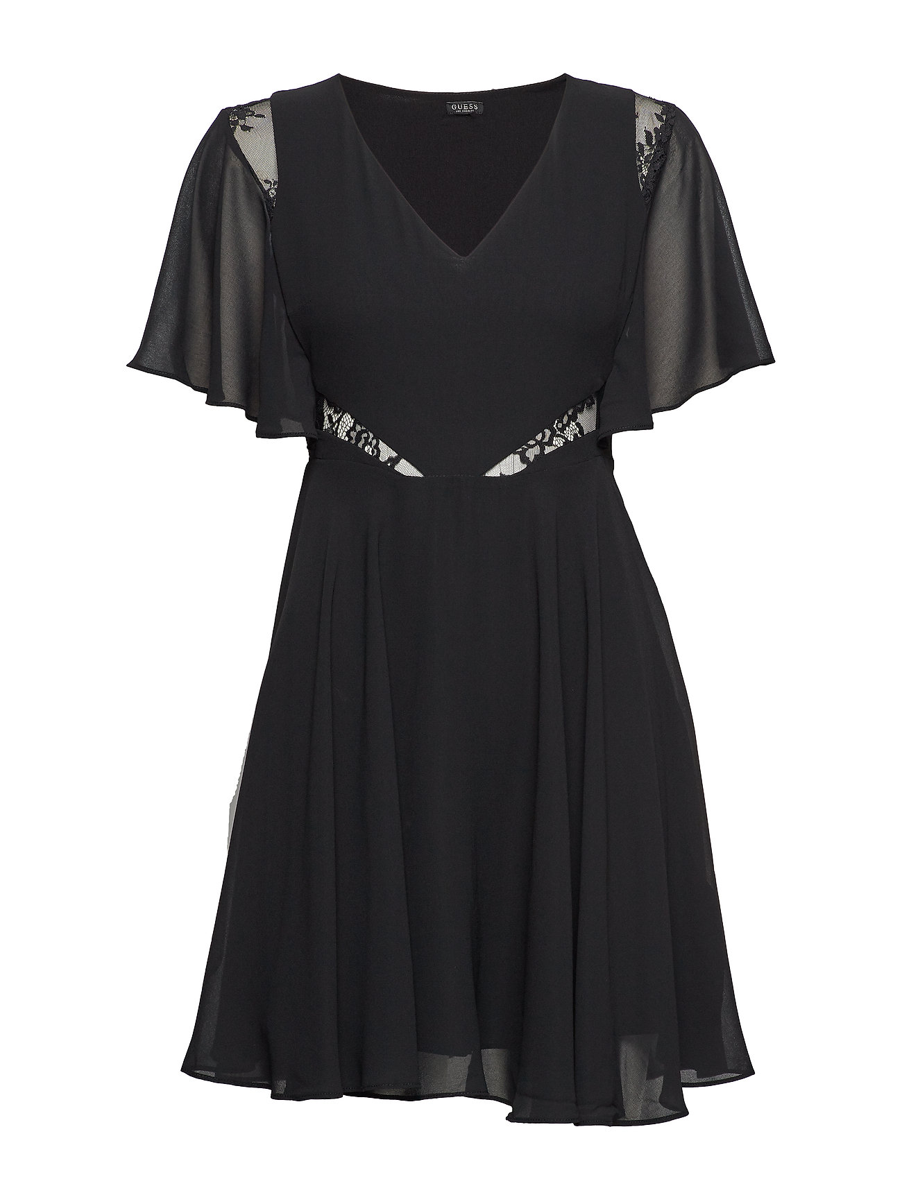 GUESS Jeans ELLA DRESS - JET BLACK A996