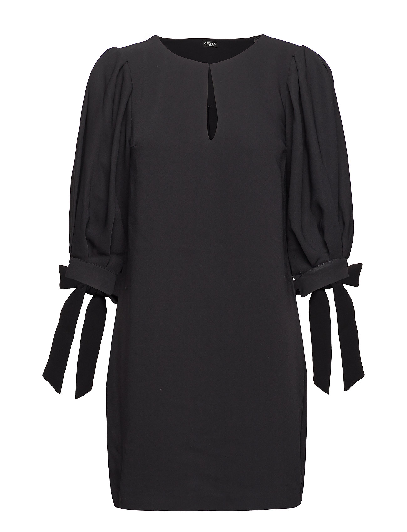 GUESS Jeans NISA DRESS - JET BLACK A996
