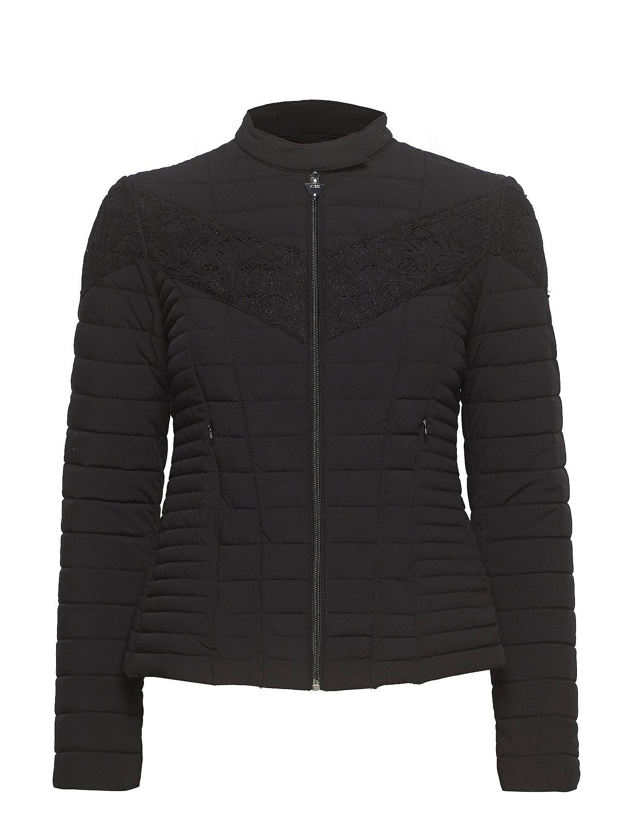 GUESS Jeans VONA JACKET - JET BLACK A996
