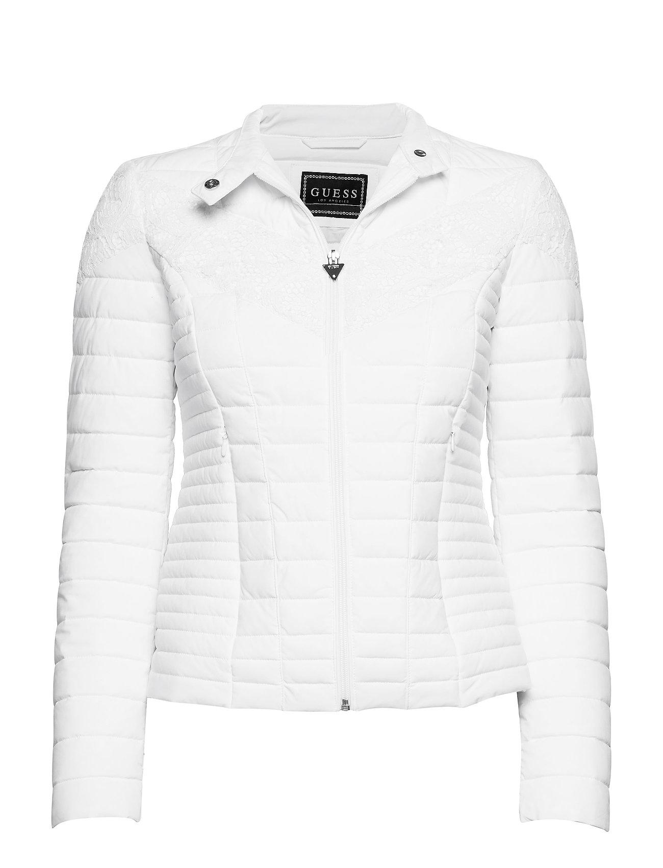 GUESS Vona Jacket Gefütterte Jacke Weiß GUESS JEANS