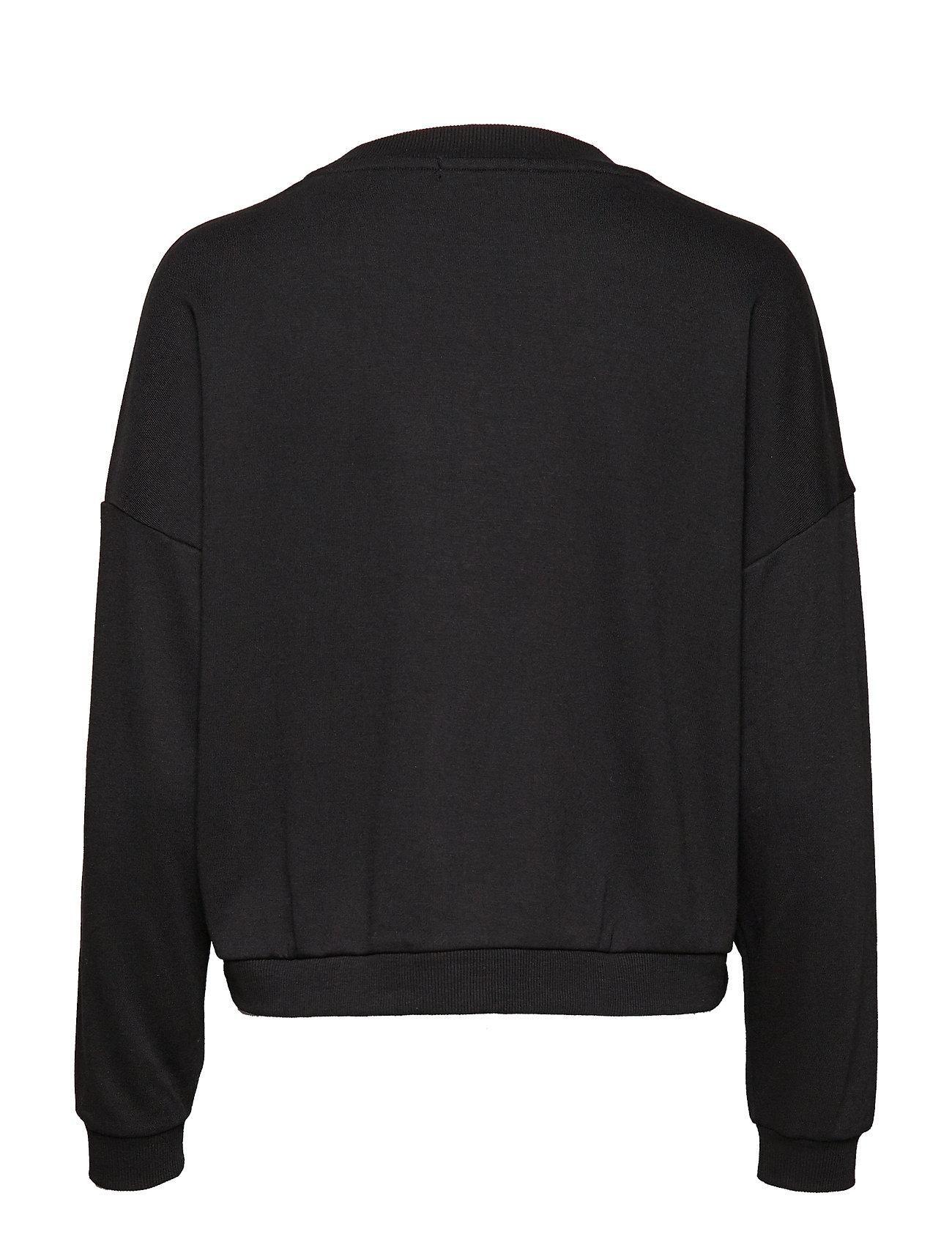 Iconic Jeans BurnoutGuess Fleecejet Black Black Fleecejet Iconic IWE2YDH9e