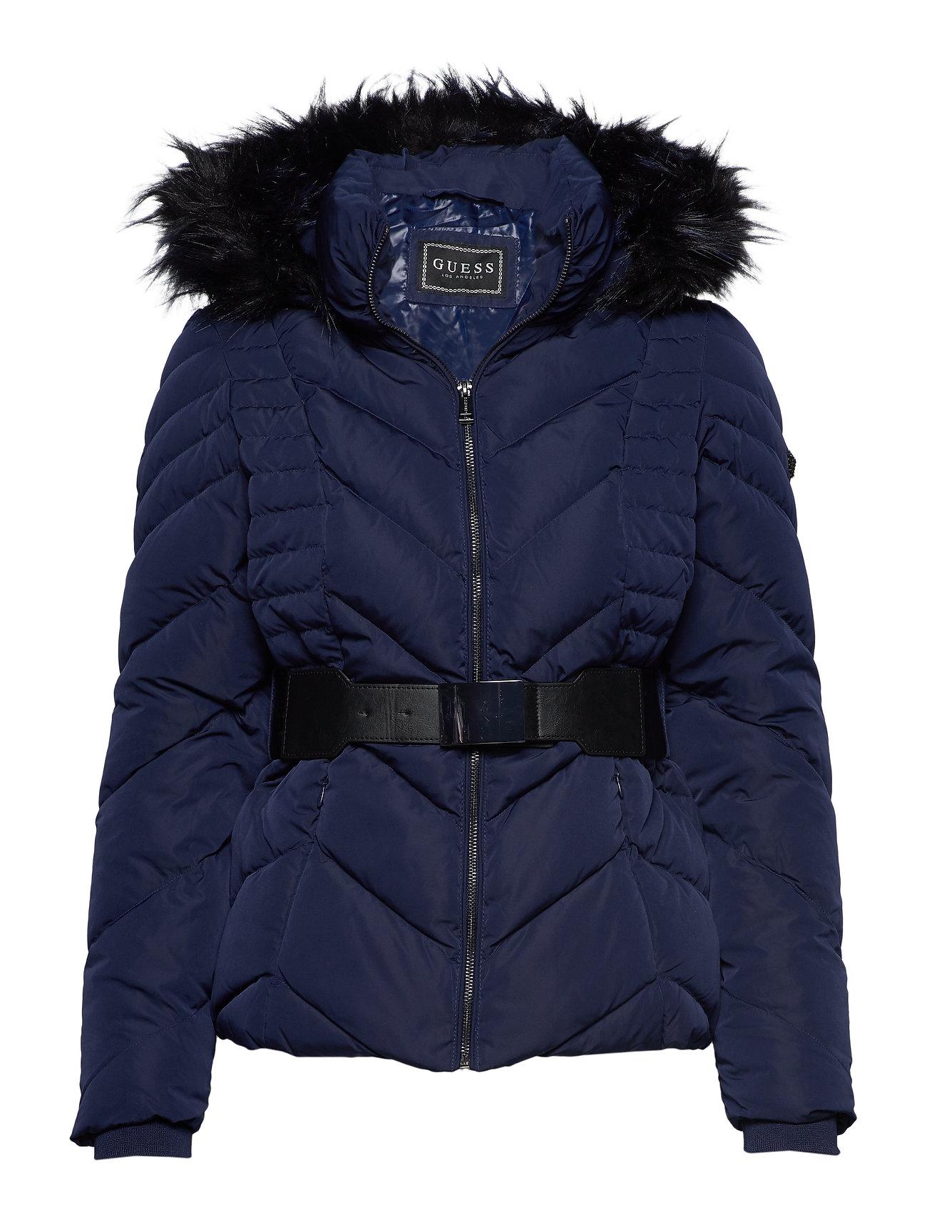 GUESS Petra Down Jacket Gefütterte Jacke Blau GUESS JEANS