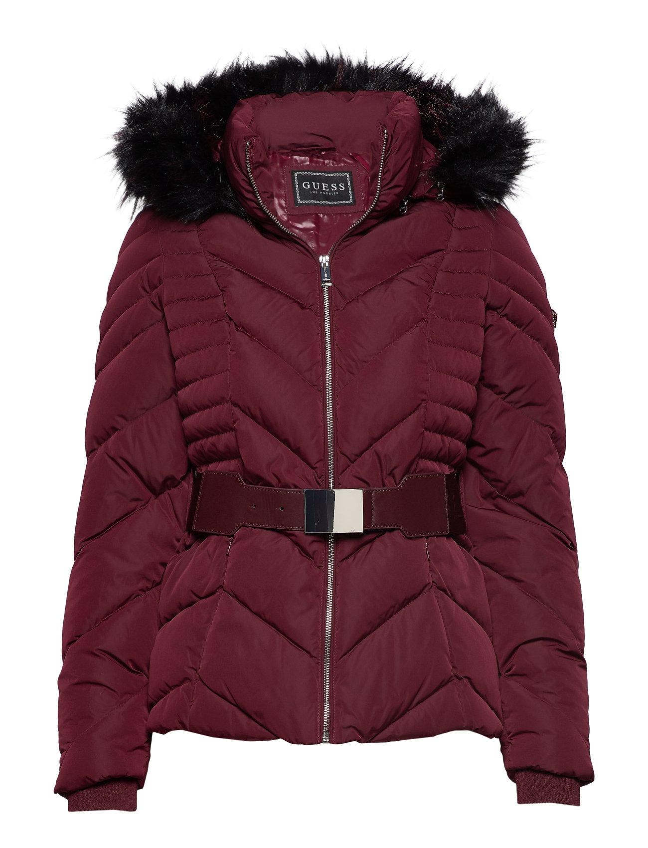 GUESS Petra Down Jacket Gefütterte Jacke Rot GUESS JEANS