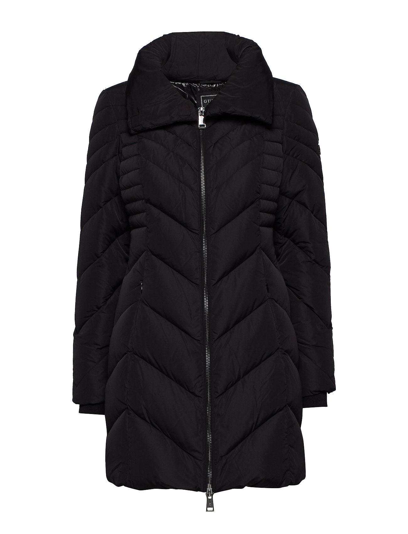 GUESS Jeans PAYTON DOWN JACKET - JET BLACK A996