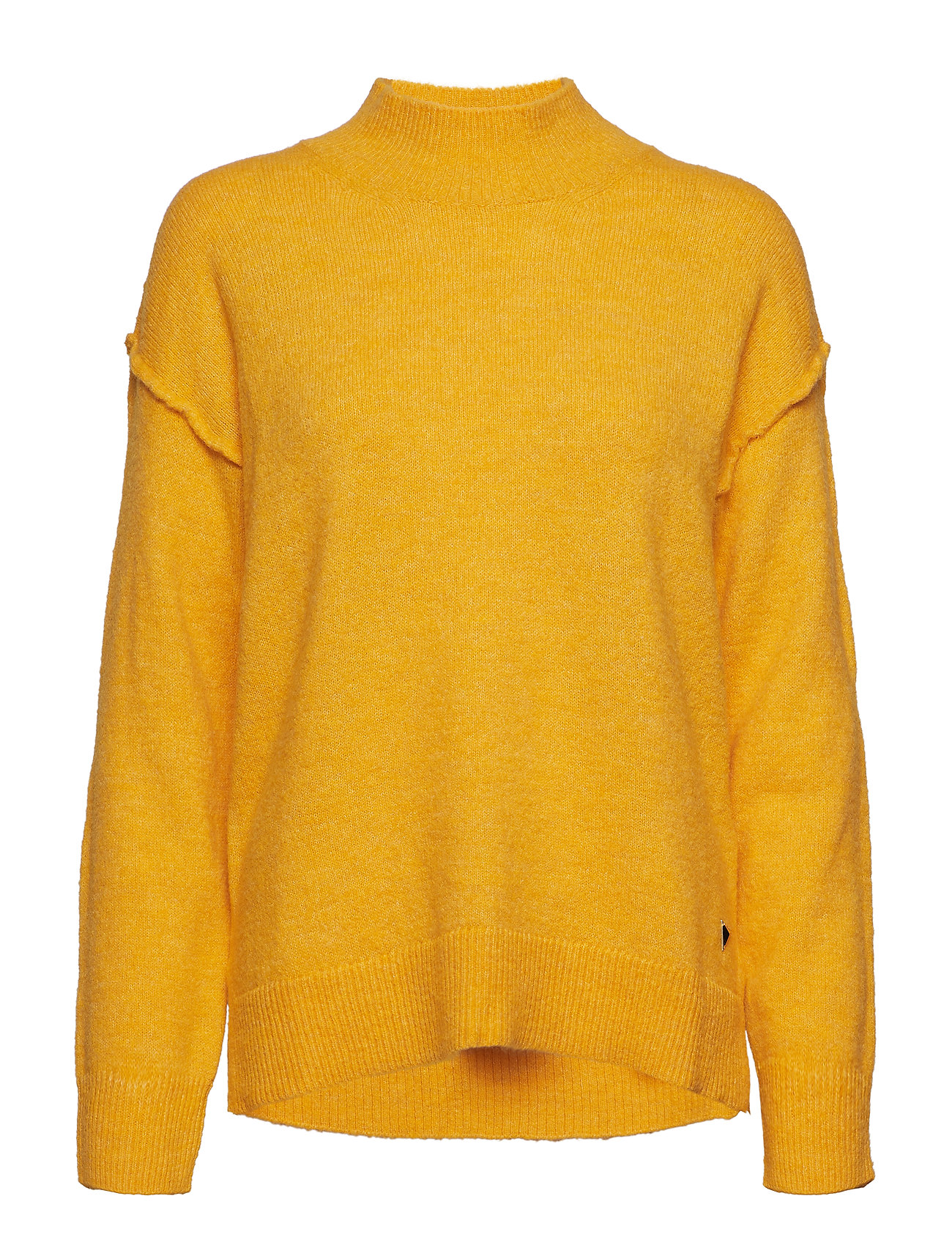 GUESS Ls Tn Laura Sweater Strickpullover Gelb GUESS JEANS