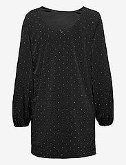 GUESS Jeans - SORAYA DRESS - vardagsklänningar - jet black a996 - 1