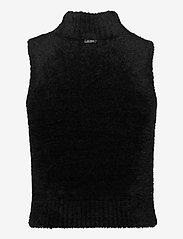 GUESS Jeans - LORE TURTLE NECK SWEATER - knitted vests - jet black a996 - 1