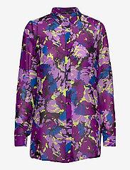 GUESS Jeans - LS CLOUIS SHIRT - chemises à manches longues - abstract flower p - 0