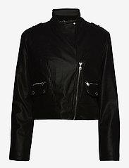 GUESS Jeans - FRANCES JACKET - skinnjackor - jet black a996 - 1