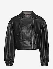 GUESS Jeans - DARYL JACKET - nahkatakit - jet black a996 - 1