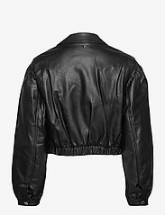 GUESS Jeans - DARYL JACKET - nahkatakit - jet black a996 - 2