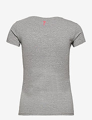 GUESS Jeans - SS CN REBECCA TEE - t-shirts - stone heather gre - 1