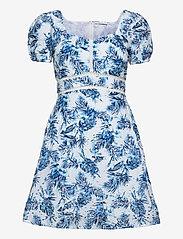 GUESS Jeans - ROBIN DRESS - robes d'été - anthurium blue fl - 0