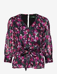 GUESS Jeans - LS ANITA TOP - långärmade blusar - heartbreaker rose - 0