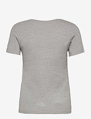 GUESS Jeans - SS CN ORIGINAL TEE - t-shirts - stone heather gre - 1