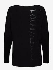 GUESS Jeans - LS KAROLINA TEE - långärmade toppar - jet black a996 - 1