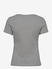 GUESS Jeans - SS CN BEAUTY TEE - t-shirts - stone heather gre - 1