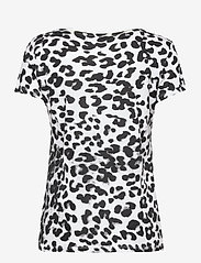 GUESS Jeans - SS CN EWA TEE - t-shirts - iconic leopard wh - 1