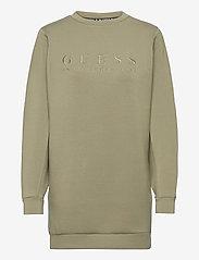 GUESS Jeans - SAMARAH DRESS - vardagsklänningar - army sage - 0