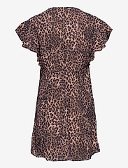 GUESS Jeans - AYAR DRESS - sommarklänningar - iconic leopard br - 1