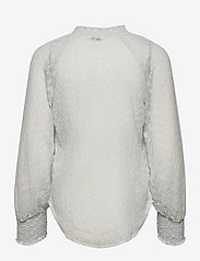 GUESS Jeans - 3 QTR SLV CHARISSE BLOUSE - långärmade blusar - airway blue multi - 1
