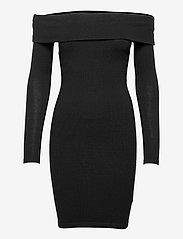 INES DRESS SWTR - JET BLACK A996