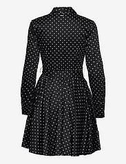 GUESS Jeans - SHEA DRESS - midiklänningar - small dots black - 1