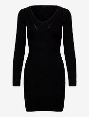 CECILE DRESS SWTR - JET BLACK A996