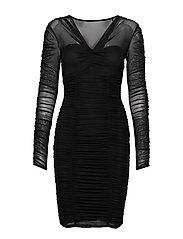 ADRIANNA DRESS - NOIR DE JAIS