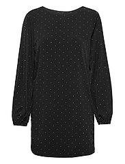 SORAYA DRESS - JET BLACK A996