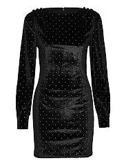 RANIA DRESS - JET BLACK A996