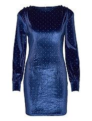 RANIA DRESS - SHARP NAVY