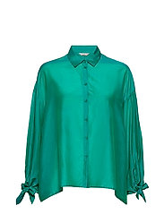 LS MARISA SHIRT - BEVERLY GREEN