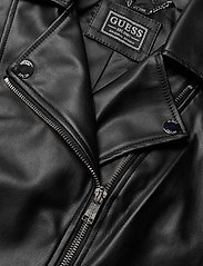 GUESS Jeans - DARYL JACKET - nahkatakit - jet black a996 - 3