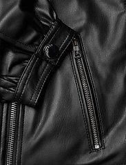 GUESS Jeans - DARYL JACKET - nahkatakit - jet black a996 - 4