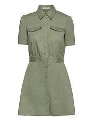 REYNA DRESS - ARMY SAGE