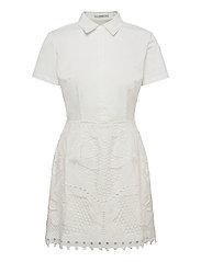 RITA DRESS - TRUE WHITE A000