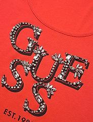 GUESS Jeans - ARLENE TANK TOP - linnen - blazed amber - 2