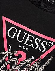 GUESS Jeans - ICON FLEECE - sweatshirts - jet black a996 - 2